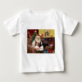 Santa's 2 Cavalier Kings Charles Tee Shirts
