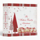 Santas and Christmas Trees Photo Album Binder