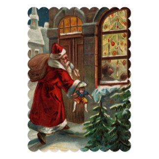 Santa's at the Door Invitation