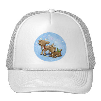 Santa's Baby Reindeer Hat