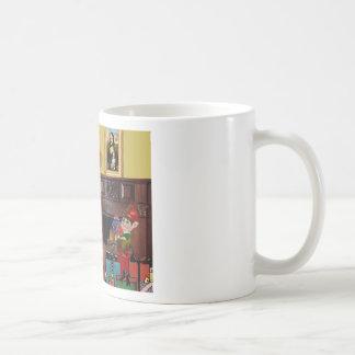 Santa's Beagle Coffee Mug