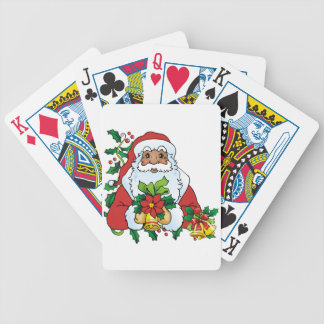 Santas Bells Bicycle Poker Deck