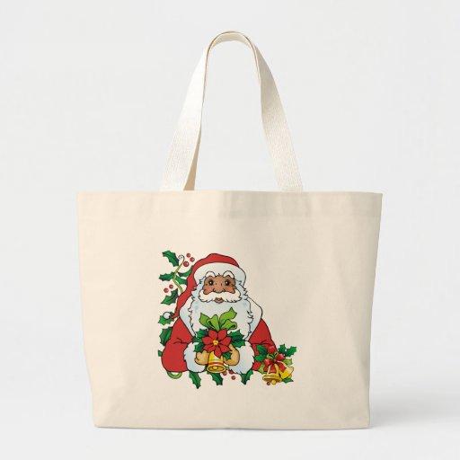 Santas Bells Jumbo Tote Bag