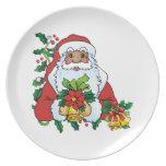 Santas Bells Plates