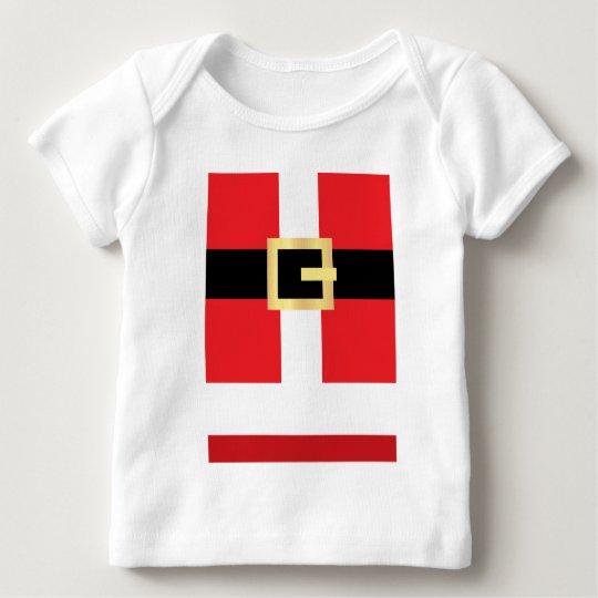 Santa's Belt Baby T-Shirt