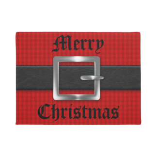 Santa's Belt for Christmas Doormat
