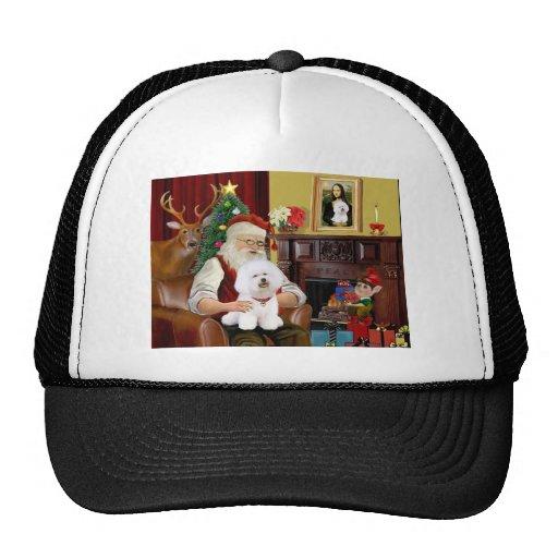 Santa's Bichon Frise (#1) Trucker Hat