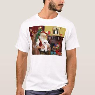 Santa's Bichon Frise #2 T-Shirt
