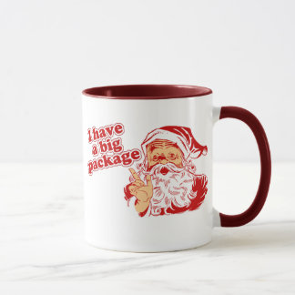 Santas Big Package Mug