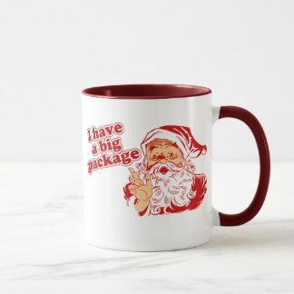 Santas Big Package Mug