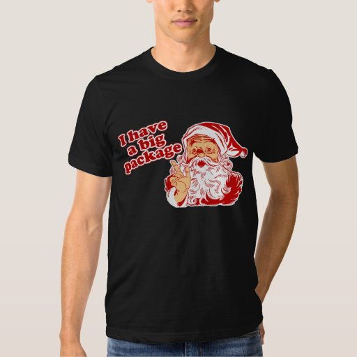 Santas Big Package Shirt