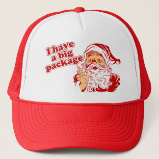 Santas Big Package Trucker Hat