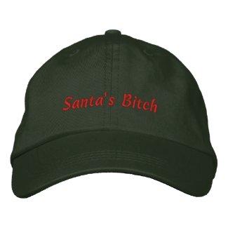 Santa's Bitch Cap / Hat embroideredhat