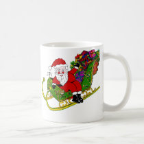 Santa's Booties and Boots on Coffee/Tea Mug