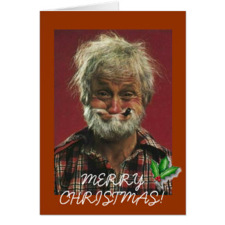 Santas Brother Card