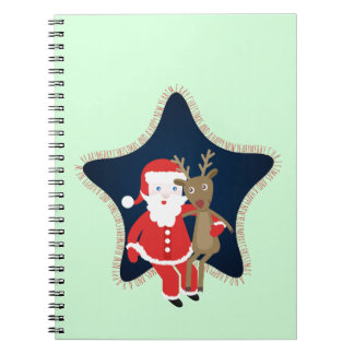 Santa's Buddy Notebook
