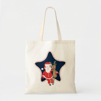 Santa's Buddy Tote Bag