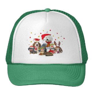 Santa's Canine Helpers Trucker Hat