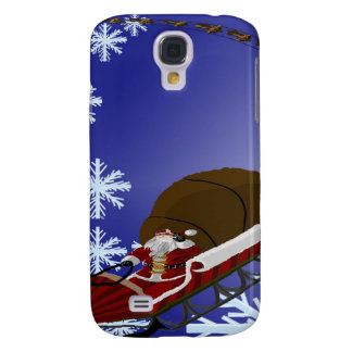 Santa's Card Galaxy S4 Cases