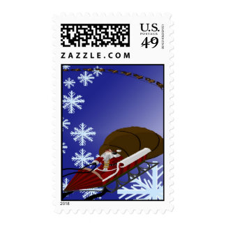Santa's Card Stamp