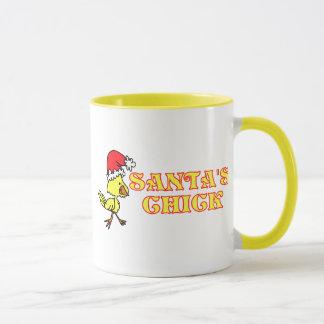Santas Chick Mug