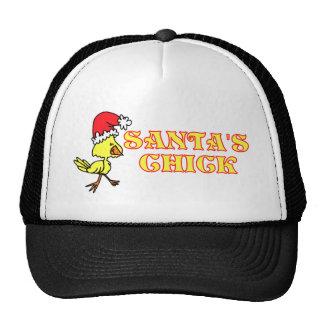 Santas Chick Trucker Hat