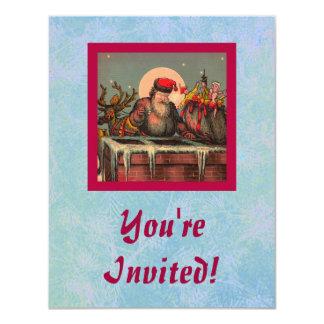 Santa's Chimney invitation