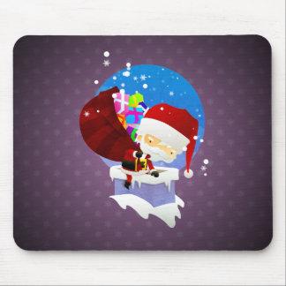 Santa's Chimney Mouse Pad