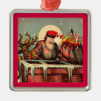 Santa's Chimney ornament