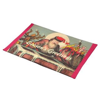 Santa's Chimney Placemat