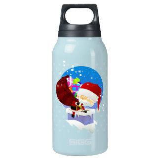 Santa's Chimney Thermos Water Bottle