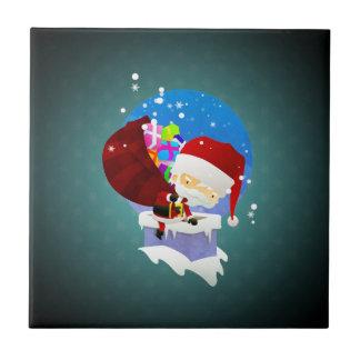 Santa's Chimney Tile