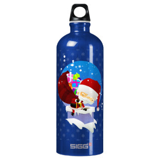 Santa's Chimney Water Bottle