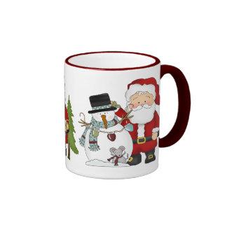 Santa's Christmas Coffee mug