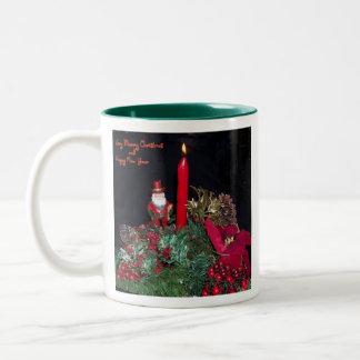 SANTA'S-CHRISTMAS-- COFFEE MUG