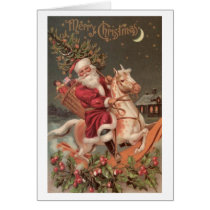 Santa's Christmas Ride Card
