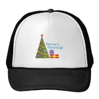 Santas Coming Trucker Hat
