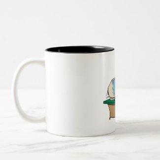 Santa's Computer mug