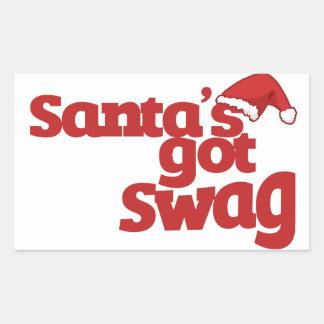 Santas consiguieron el Swag Rectangular Altavoces