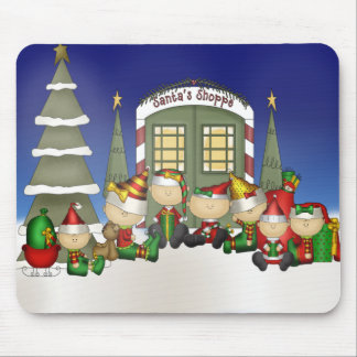 Santa's Crew Mousepad