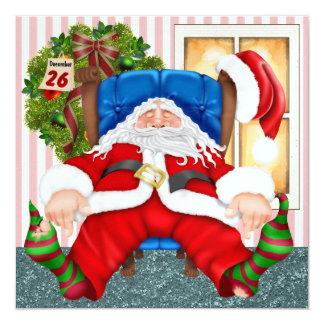 Santa's Day Off - SRF Invitation