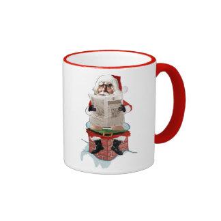 "Santa's ""Dump"" Funny Christmas Mugs"