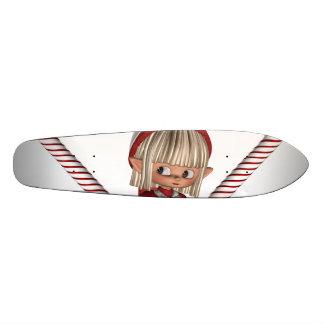 Santa's Elf Custom Skateboard