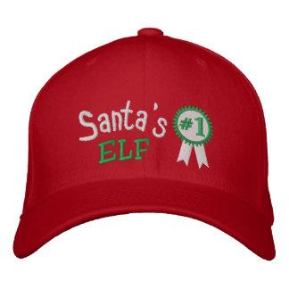 Santa's Elf Embroidered Hat