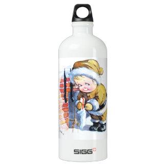 Santas Elf Filling Stockings SIGG Traveler 1.0L Water Bottle