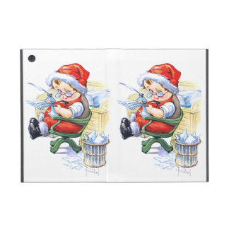 Santas Elf in Chair Case For iPad Mini