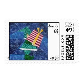 Santa's Elf Stamps