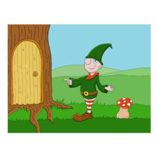 Santa's Elf Postcard