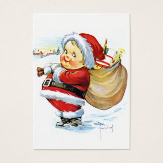 Santas Elf with Toys Business Card