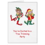 Santa's Elves Card